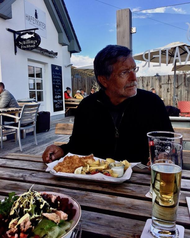 Hiddensee Restaurant Hafenkater in Vitte Hafen Vitte Hiddensee Deutschland