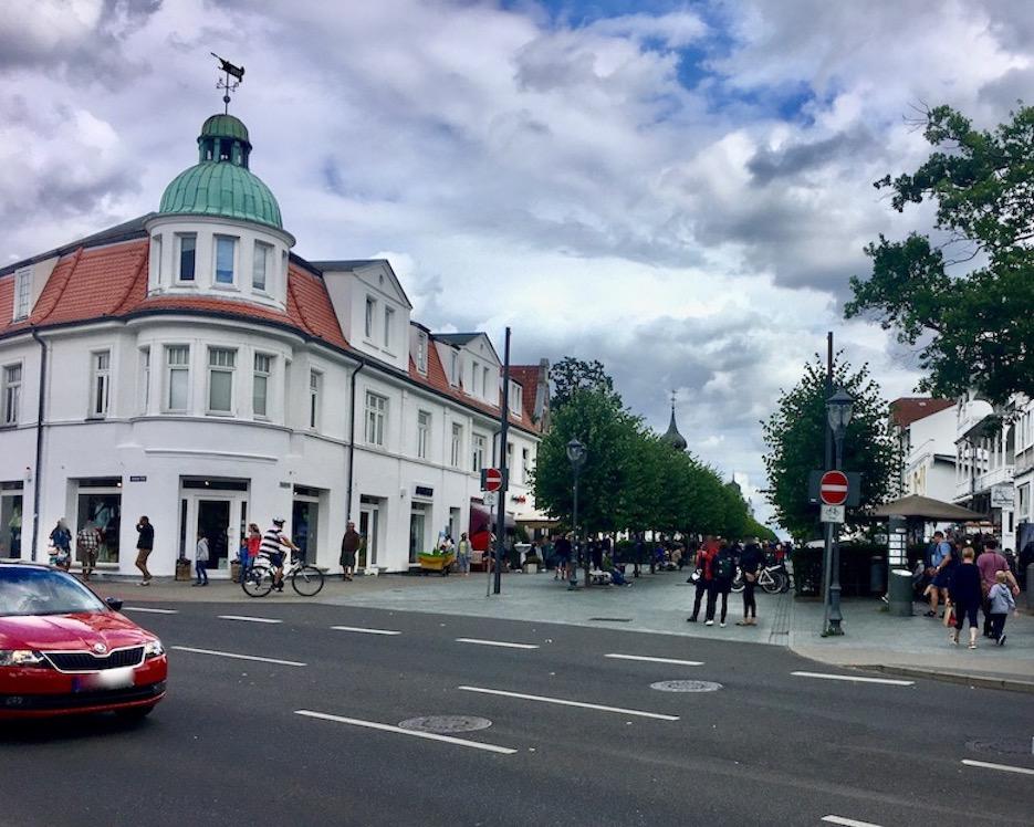Insel Rügen Ostseebad Binz zur Fußgängerzone
