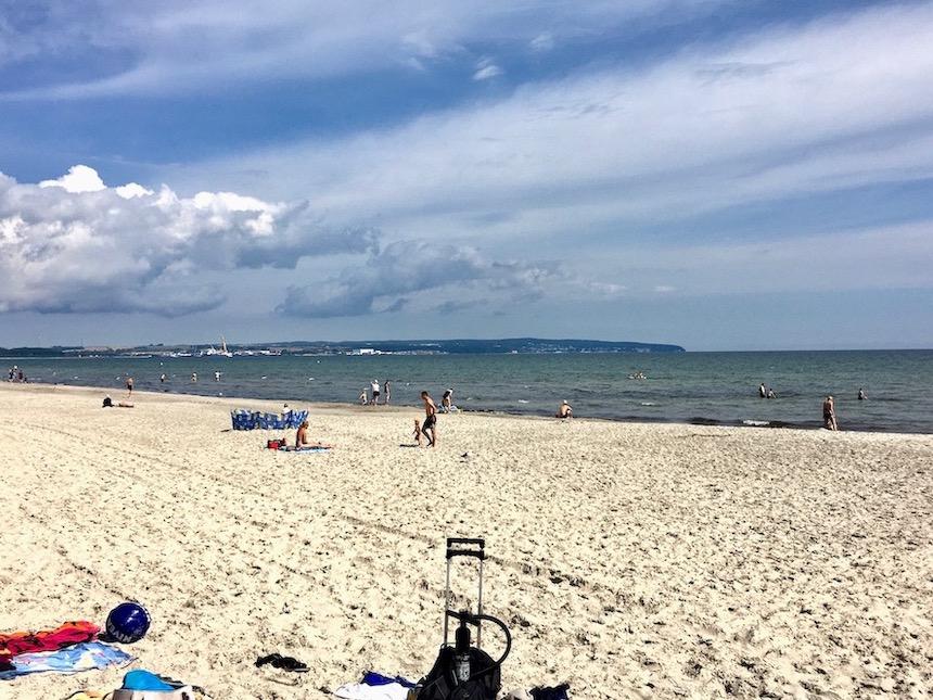 Insel Rügen Strand von Prora
