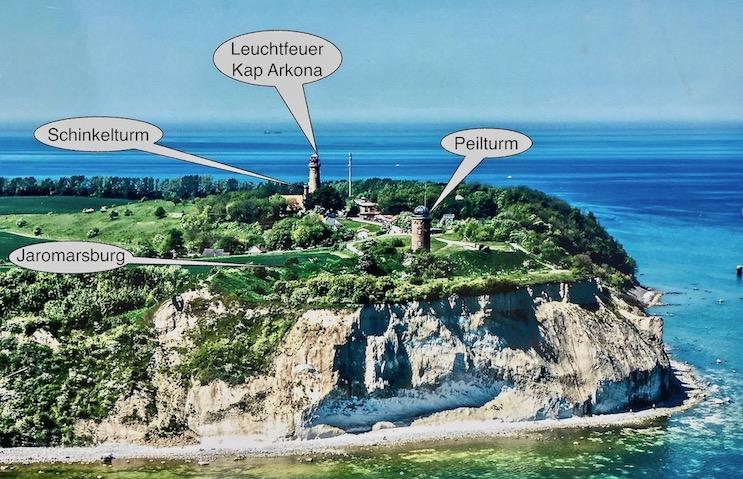 Kap Argon Rügen Luftbild