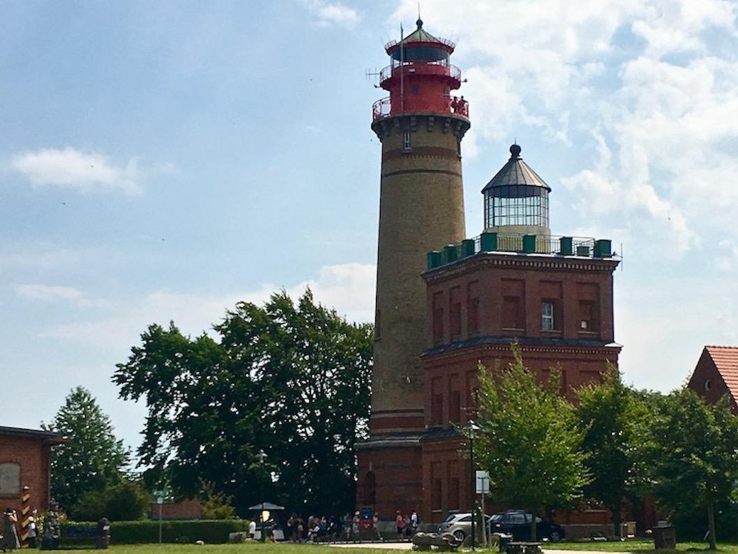 Kap Arkona Rügen Schinkelturm und Leuchtfeuer Arkona
