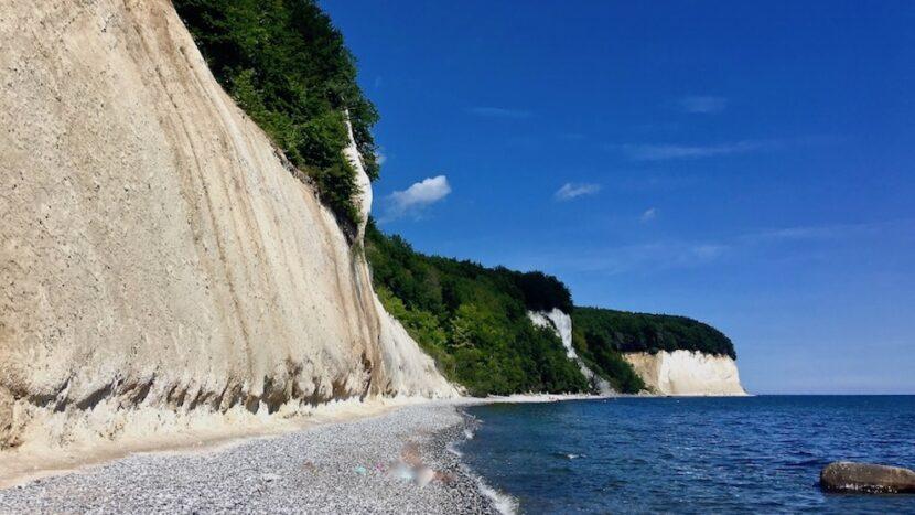 Kreideküste Kreidefelsen Ostsee Insel Rügen das Wahrzeichen die Kreidefelsen