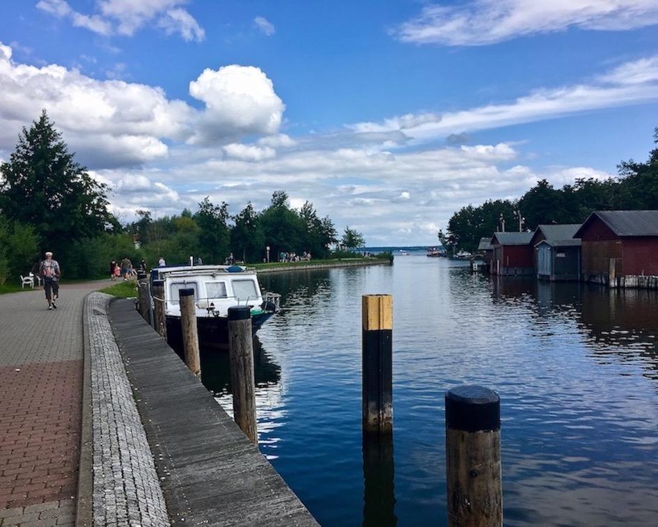 Plau am See An-der-Metow Müritz-Elde-Wasserstraße Mecklenburg-Vorpommern