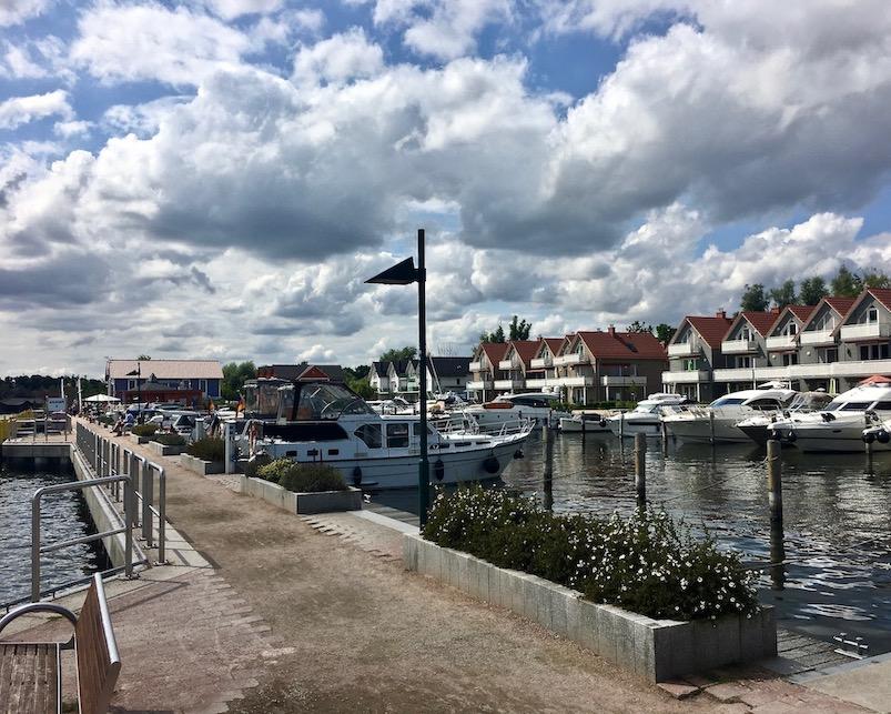 Plau am See am Hafen Hafendorf Mecklenburg-Vorpommern