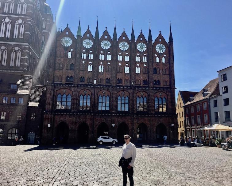 Stralsund Alter Markt Rathaus Stralsund