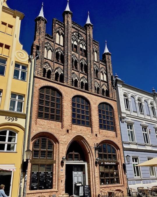Stralsund Wulflamhaus Stralsund Alter Markt
