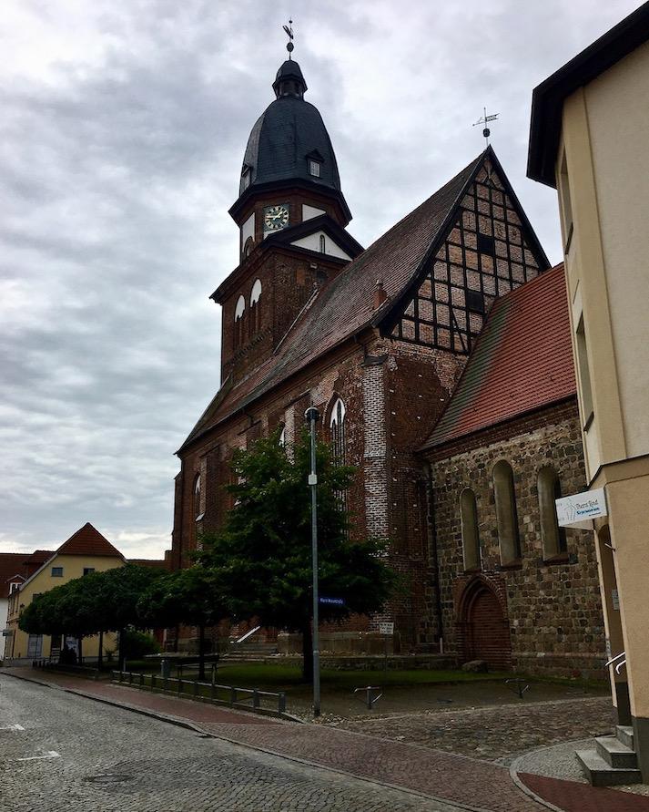 Waren an der Müritz Mecklenburg-Vorpommern Marienkirche