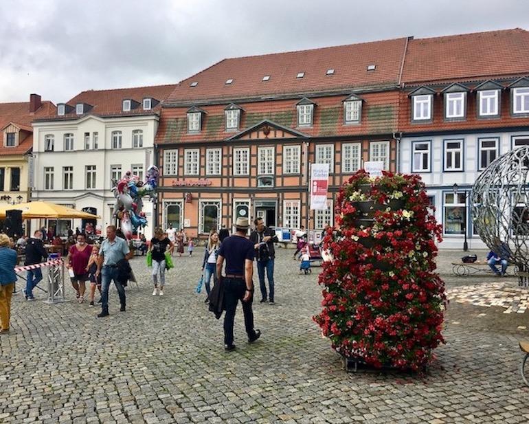 Waren an der Müritz Mecklenburg-Vorpommern Marktplatz Neuer Markt