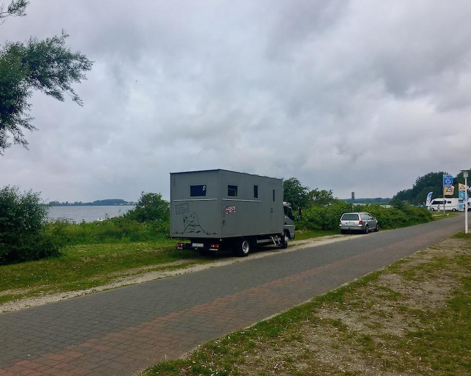 Wiek auf Rügen Beim Surf+Kite Camp Wiek auf Rügen mit mole-on-tour