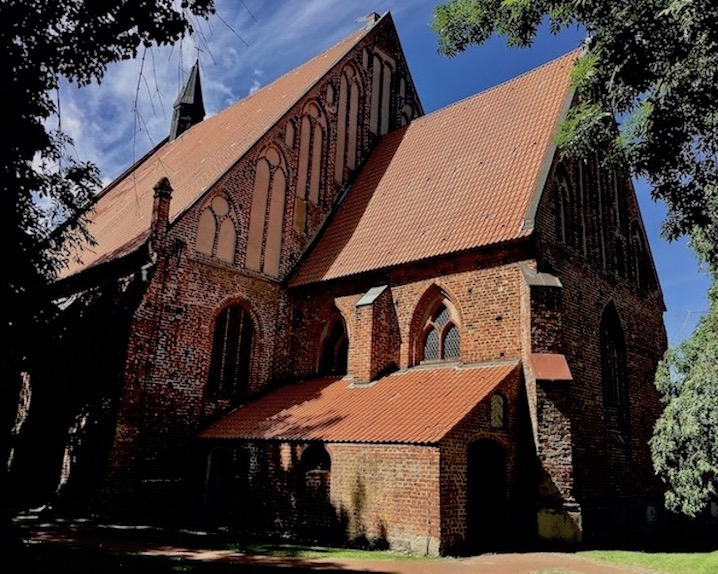 Wiek auf Rügen Kirche St.Georg
