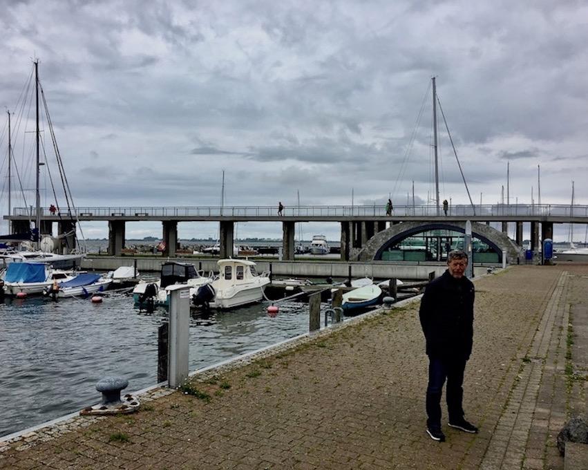 Wiek auf Rügen Wieker Kreidebrücke ehemalige Verladebrücke