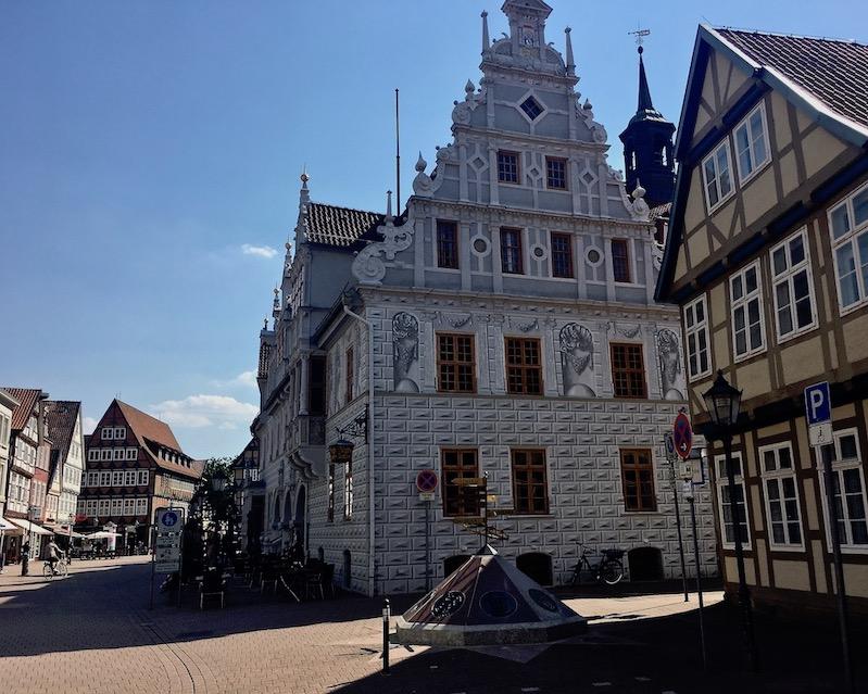 Altes Rathaus Celle Giebelansicht Celle Niedersachsen