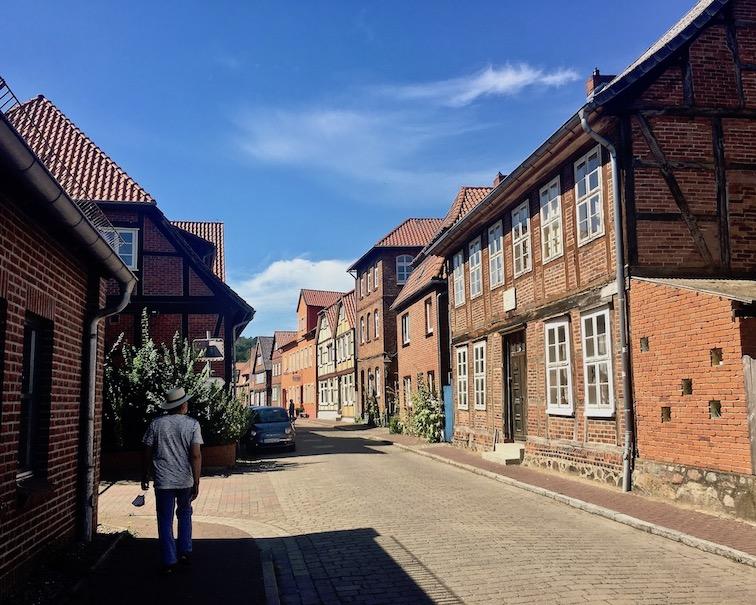 Altstadt von Hitzacker an der Elbe