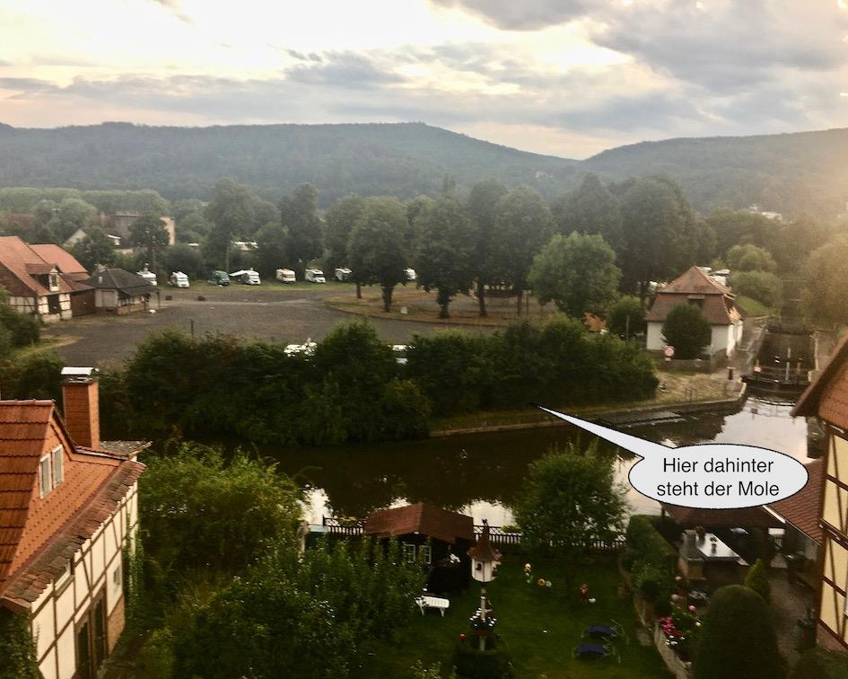 Bad Sooden-Allendor Blick zum Franzrasen Bad Sooden-Allendorf Hessen