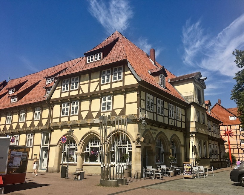 Celle Museumscafe in alter Apotheke Celle Niedersachsen