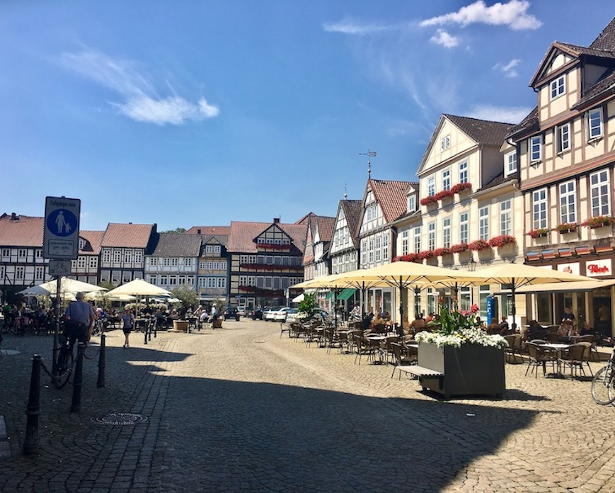 Großer-Plan Altstadtplatz in Celle Niedersachsen