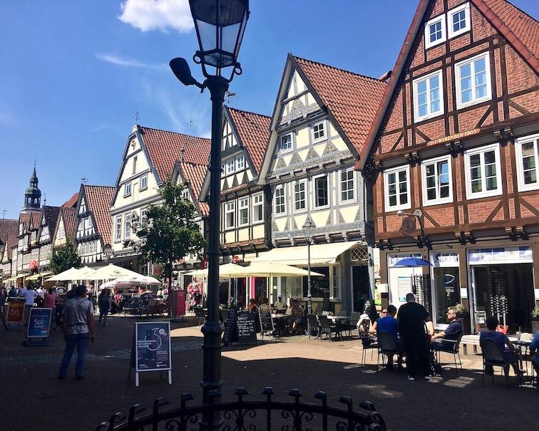 Historische Altstadt Celle Fachwerkhäuser Celle Niedersachsen