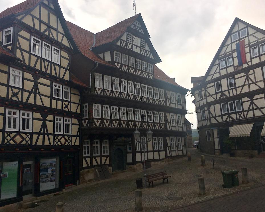 Historische Altstadt Fachwerkhäuser Bad Sooden-Allendorf Hessen