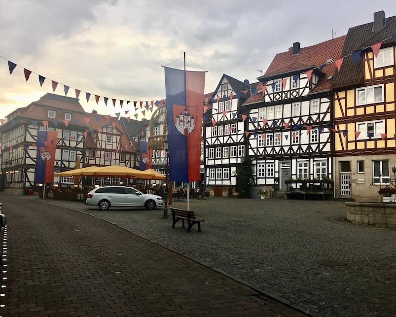 Historischer Marktplatz Bad Sooden-Allendorf Hessen