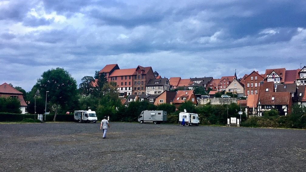 Wohnmobil Stellplatz Franzrasen Bad Sooden-Allendorf Hessen