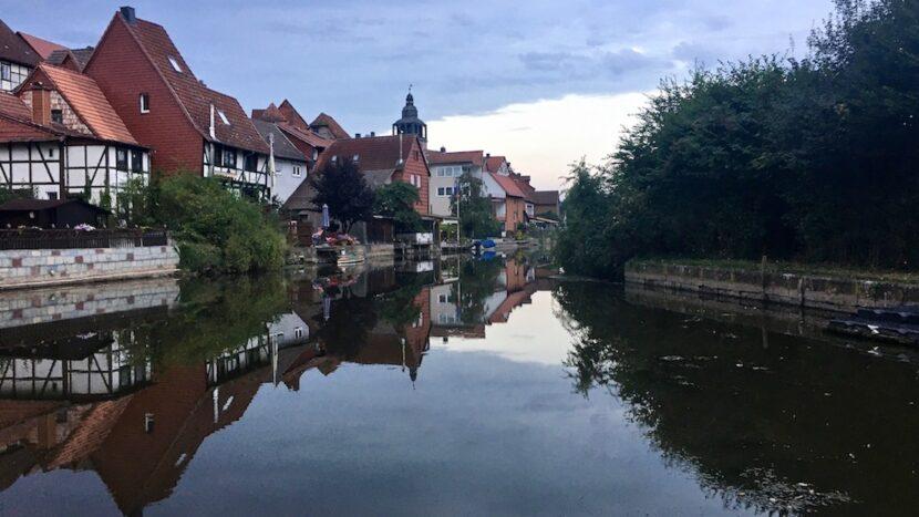Bad Sooden-Allendorf Hessen Klein-Venedig an der Werra