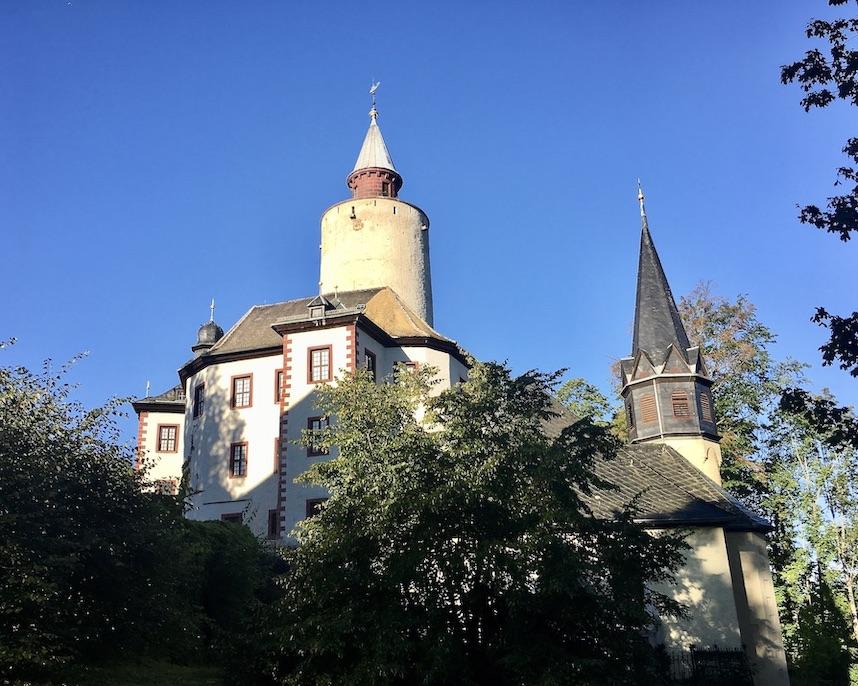 Burg Posterstein und Burgkirche Thüringen