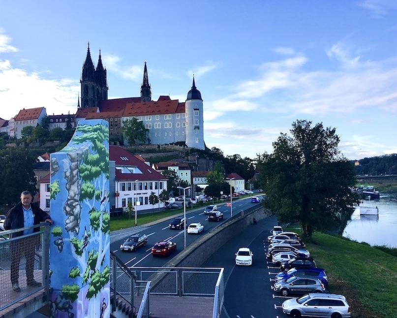 Meißen Sehenswürdigkeiten Altstadt Elbe Sachsen Meißen Sachsen Schloss-Albrechtsburg