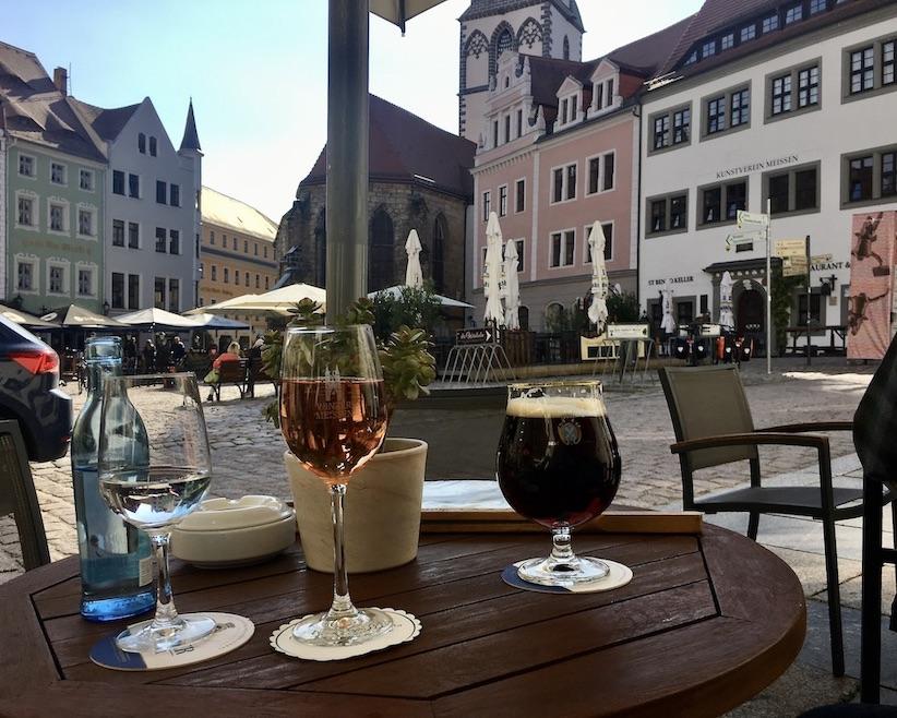 Meißen Sehenswürdigkeiten Altstadt Elbe Sachsen Meißen Sachsen Schieler im Ratskeller am Marktplatz