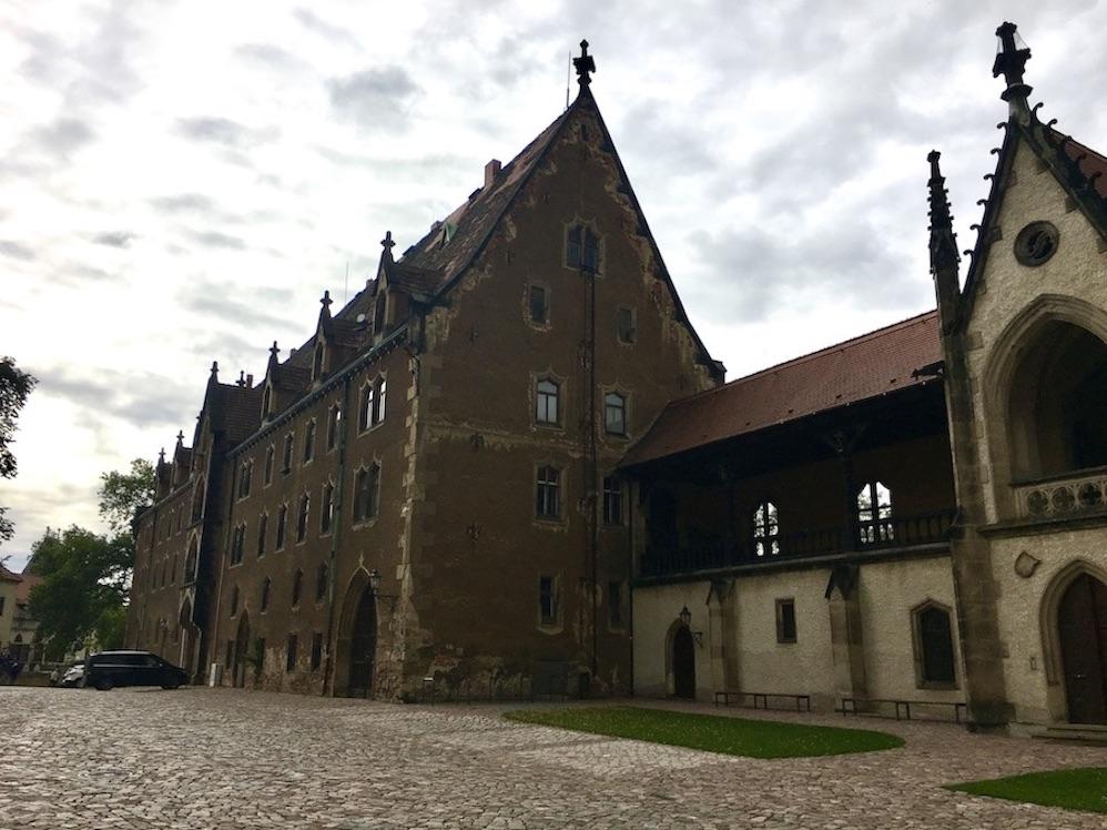 Meißen Sehenswürdigkeiten Altstadt Elbe Sachsen Meißen Sachsen Kornhaus am Domplatz