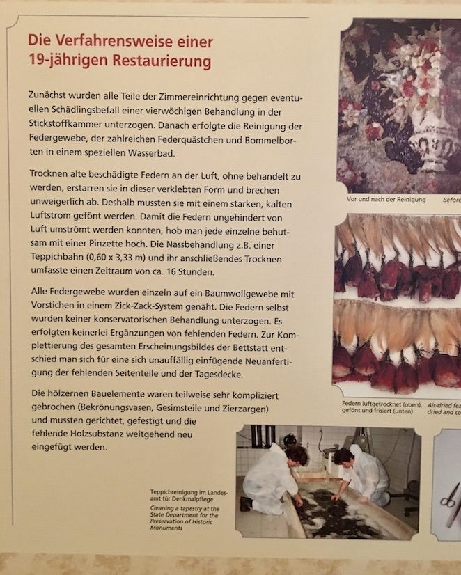 Moritzburger Federzimmer Beschreibung 3