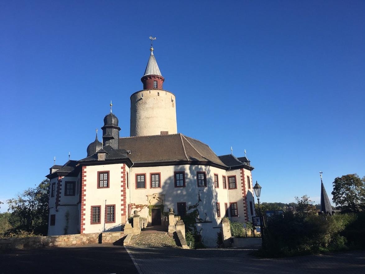 Schloss Burg Posterstein Eingang zum Museum