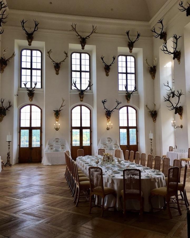 Schloss Moritzburg Sachsen Festsaal