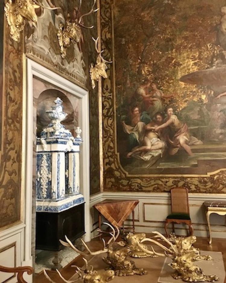 Schloss Moritzburg Sachsen Monströsensaal