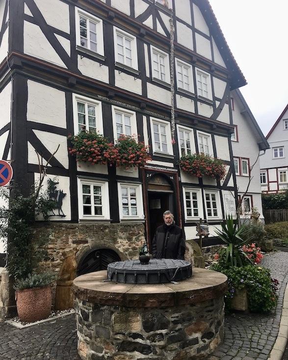 Alsfeld Hessen Das Märchenhaus Museum Fachwerk-Stadt