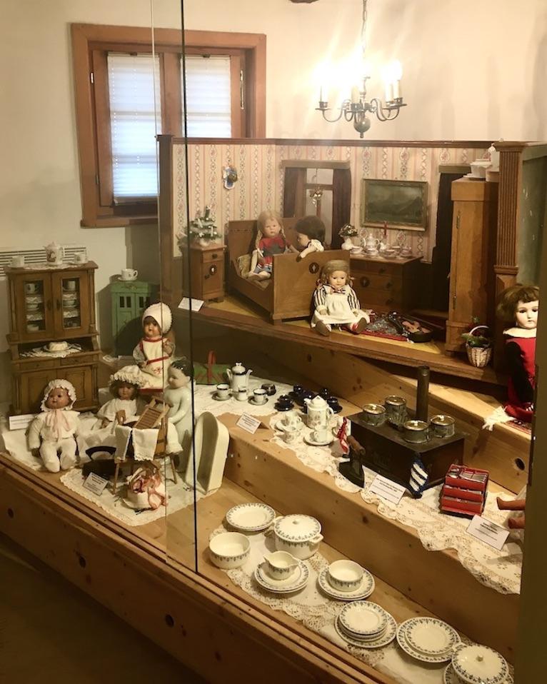Alsfeld Hessen Das Märchenhaus Museum viele Puppenstuben