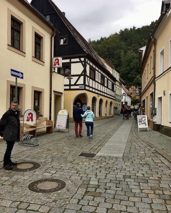 Bad Schandau Elbe Marktstraße