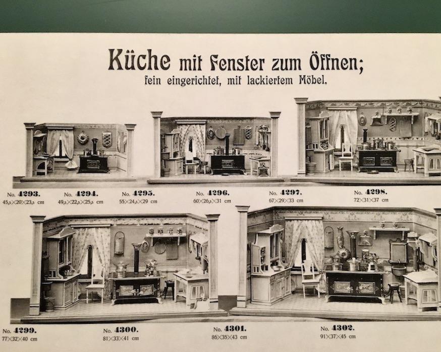 Erzgebirgisches-Spielzeugmuseum Katalogblatt Puppenstuben