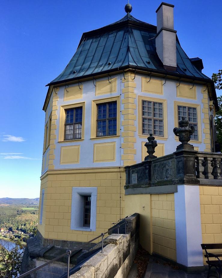Festung Königstein Elbsandsteingebirge Sachsen Friedrichsburg auf der Festung