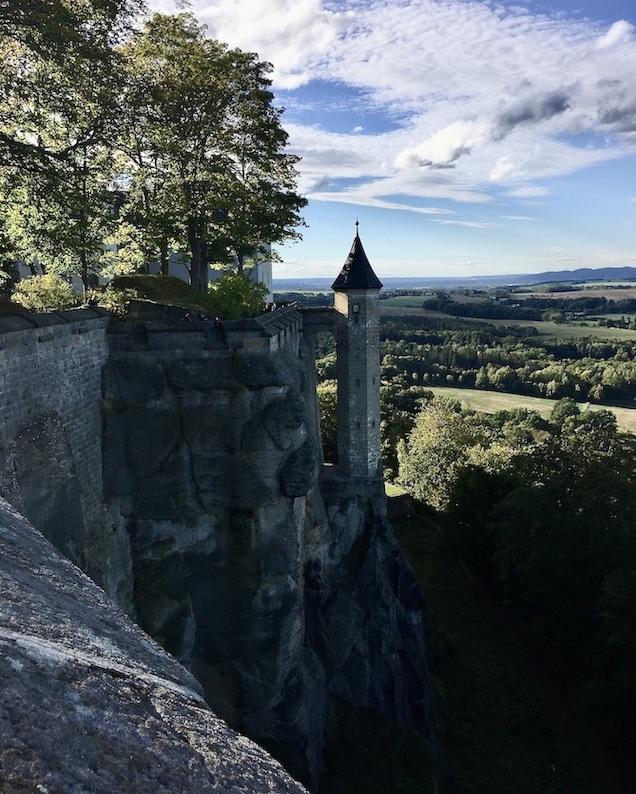 Festung Königstein Hungerturm oder Wachturm-Rößchen Elbsandsteingebirge Sachsen