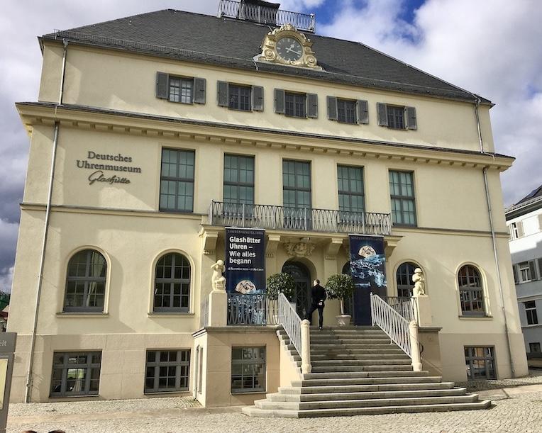 Glashütte Sachsen Sächsische-Schweiz Deutsches-Uhrenmuseum