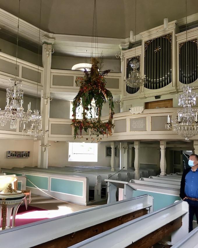 Kurort Seiffen Bergkirche Seiffen Erzgebirge Orgel