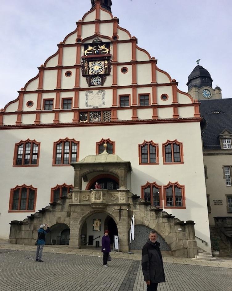 Plauen Vogtland Altes Rathaus Plauener-Spitzenmuseum