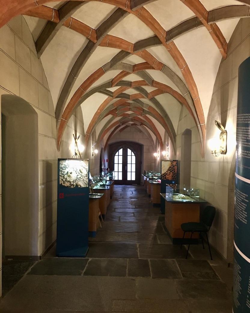 Plauen Vogtland Plauener-Spitzenmuseum Eingangsbereich