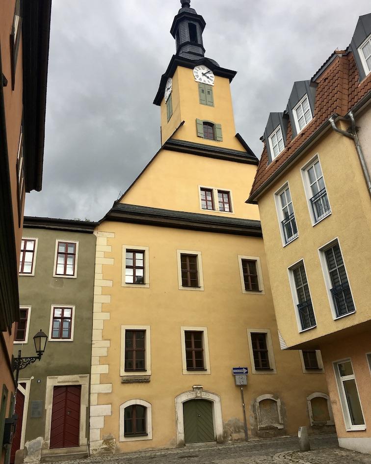 Rudolstadt Thüringen Altes Rathaus heute Stadtarchiv