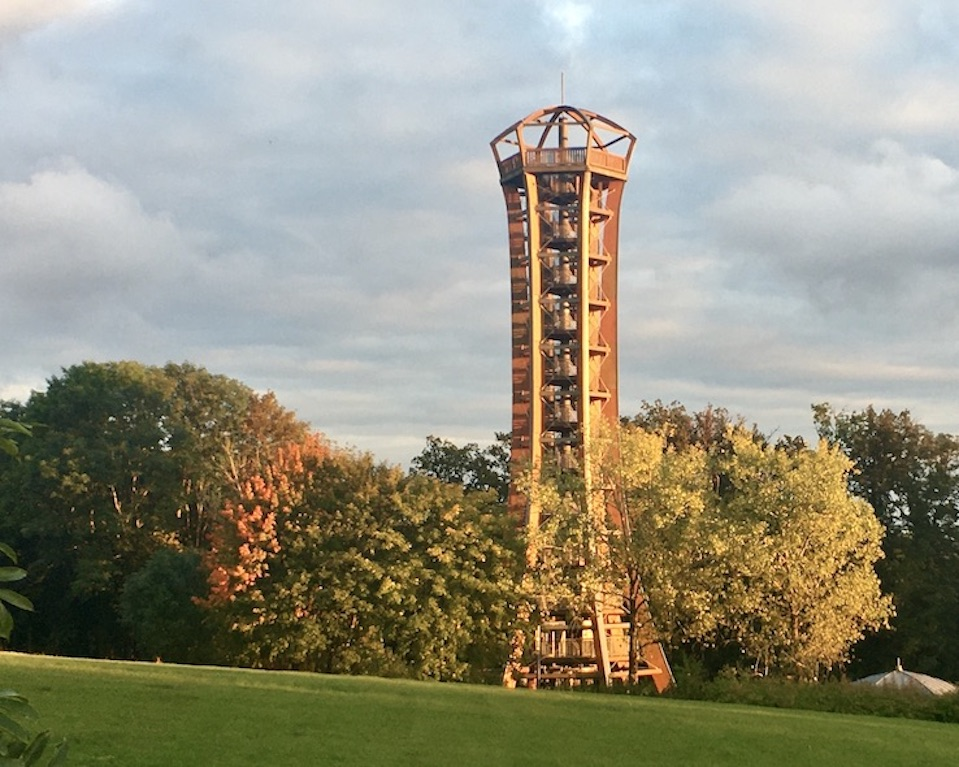 Saaleturm an der Saaleschleife Aussichtsturm Saale-Orla-Kreis Thüringen