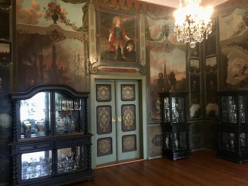Schloss Burgk Thüringen Saale-Orla-Kreis Museum Kleiner-Saal