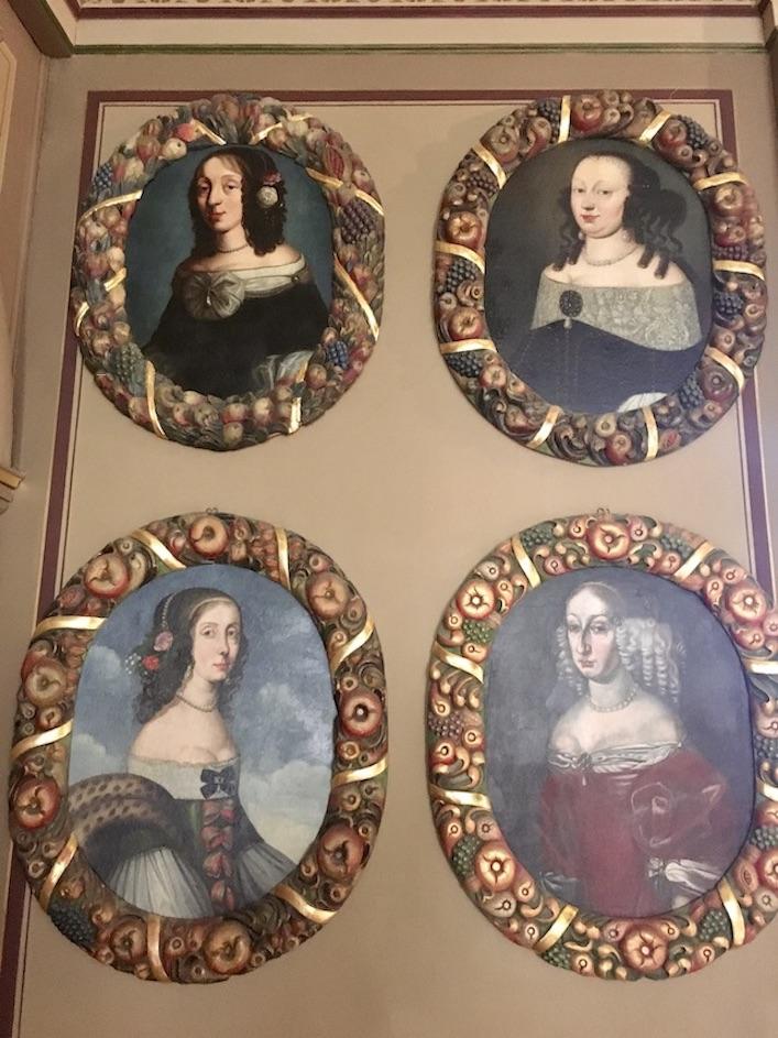 Schloss Burgk Thüringen Saale-Orla-Kreis Museum Prunkzimmer Portraitbilder