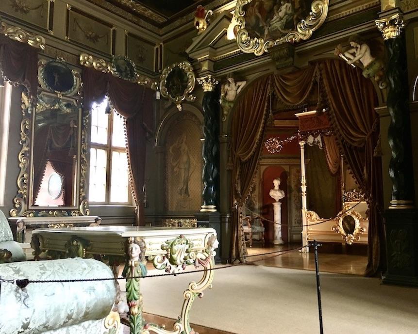 Schloss Burgk Thüringen Saale-Orla-Kreis Museum Prunkzimmer Wohnraum