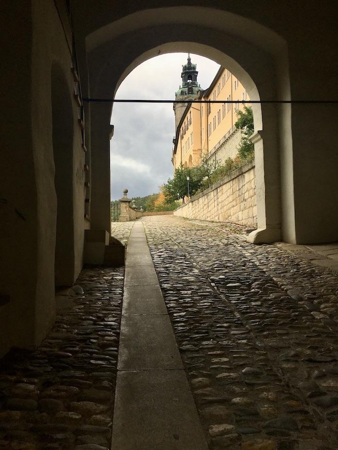 Schloss Heidecksburg Durch die Alte Wache Rudolstadt Thüringn