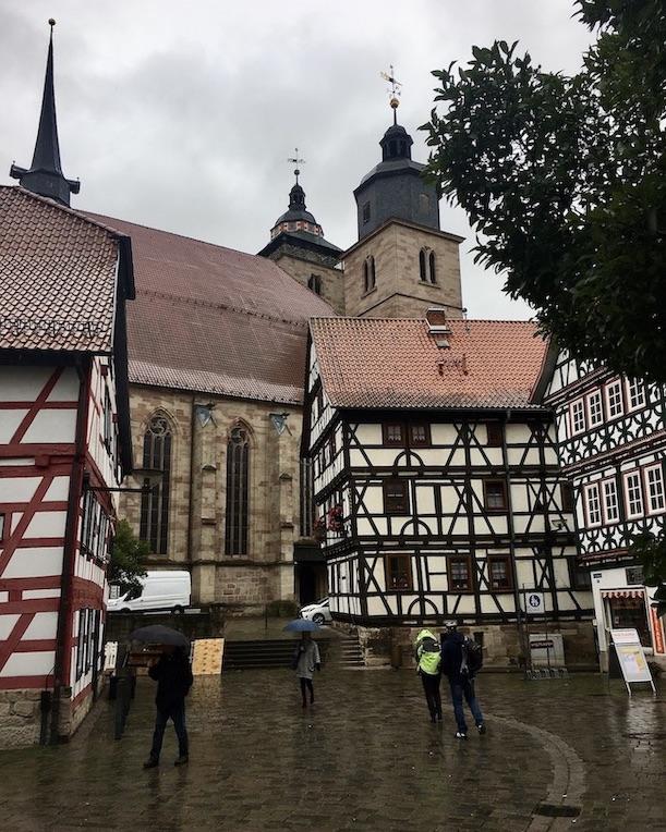 Schmalkalden Thüringen Kirche Sankt Georg am Kirchhof